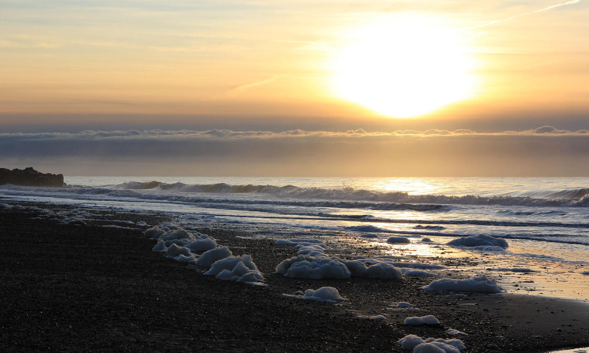 Nordsee Schaumstrand - Ralf Struß
